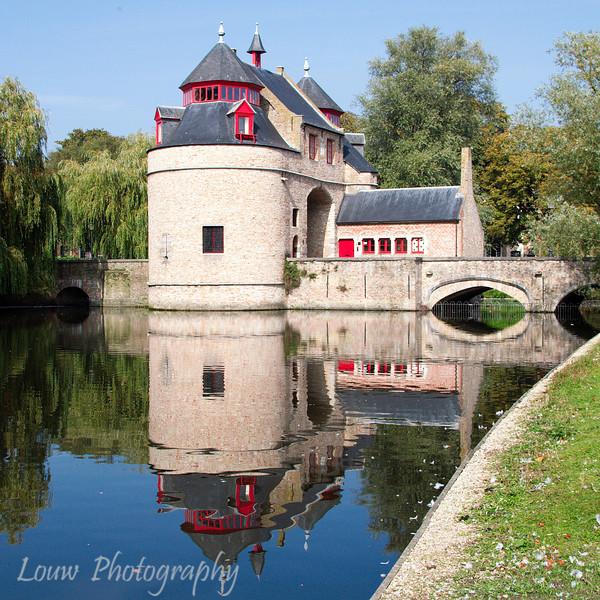 Ezelpoort Gate, Brugge, Belgium