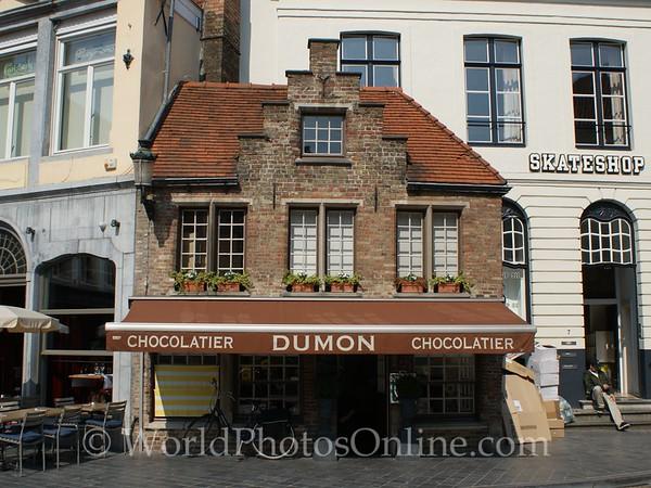 Brugge - Belgium Chocolate Shop