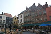 Brugge - Small square of cafes