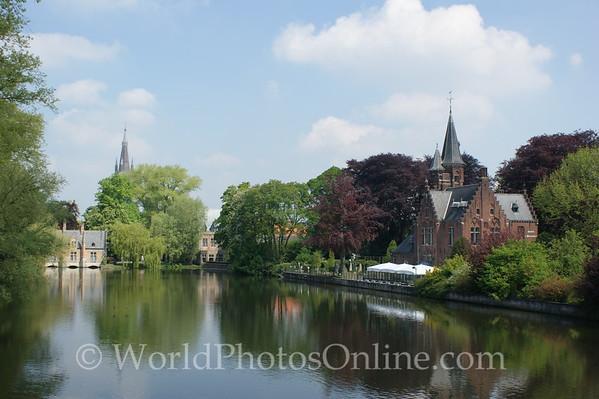 Brugge - Minnewater (lake of love)