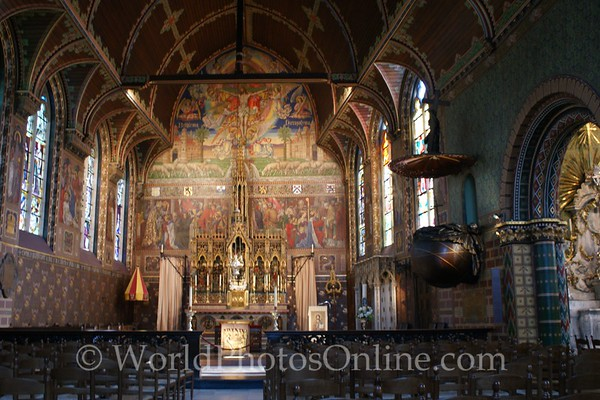 Brugge - Burg Square - Church of the Holy Blood - Upper Chapel