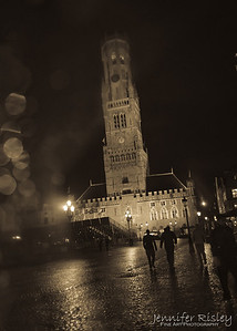 Belfry Tower at Night