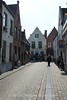 Brugge - Cobblestone street in Historic section