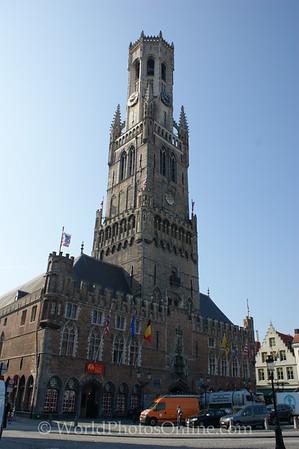 Brugge - Belfry on Market Square