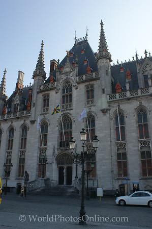Brugge - Provincial Government Palace - Main Doors
