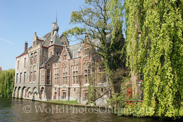 Brugge - Beguinage - Outer Wall