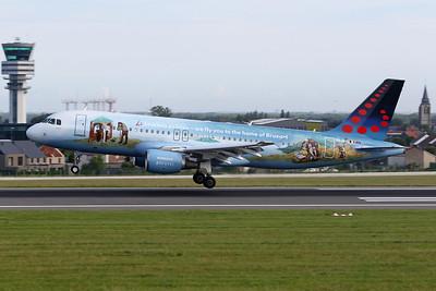 """OO-SNE Airbus A320-214 c/n 4243 Brussels/EBBR/BRU 09-06-19 """"Breugel"""""""