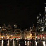 Grand Place by Night – Brussels, Belgium – Photo