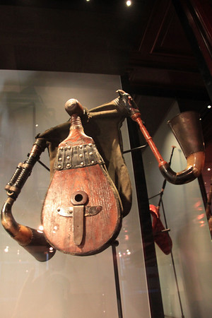 Hungarian Bagpipes - Musical Instruments Museum - Brussels, Belgium