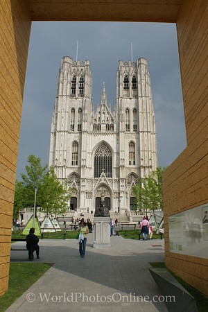 Brussels - Cathedral