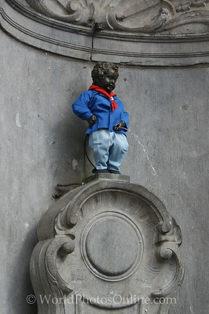 Brussels - Manneken Pis or 'Peeing Boy'