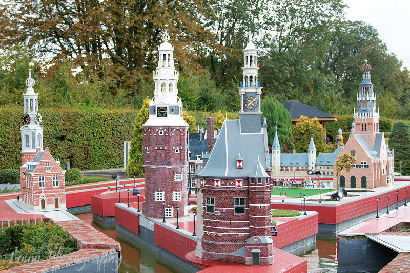 Model of Hoorn in Belgium at Mini Europe, Bruxelles, Belgium
