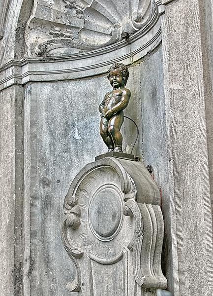 Manneken Pis - Brussels