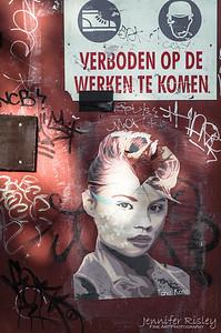 Tchiz Kate Street Art