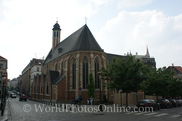Brussels - Church of Mary Magdalene 1
