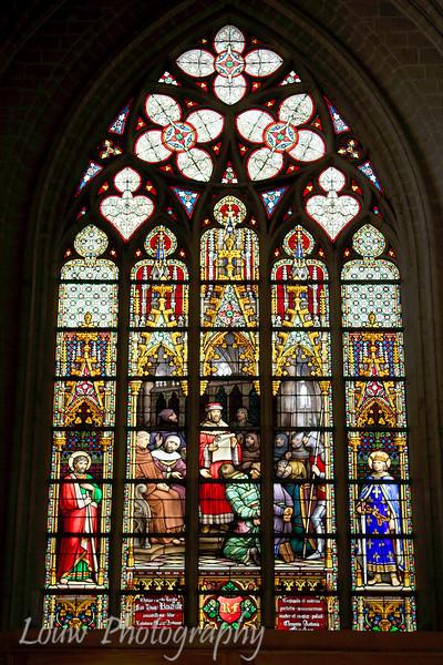 Cathédrale des Saints-Michel-et-Gudule, Bruxelles, Belgium
