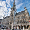 Town Hall in the Grand Place, Bruxelles, Belgium