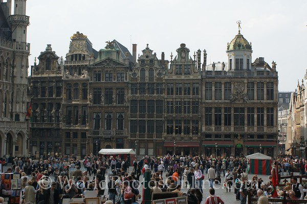 Brussels - Old Town Square