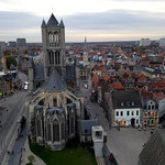 VIew from the Clocktower – Ghent, Belgium – Daily Photo