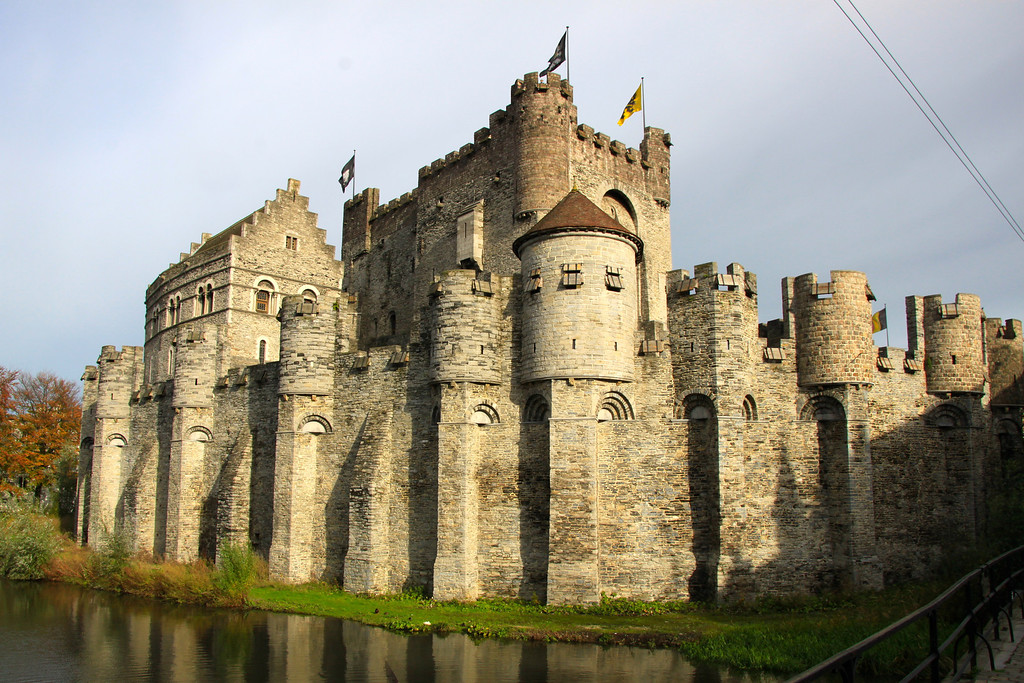 Gravensteen Castle - Ghent, Belgium - Photo