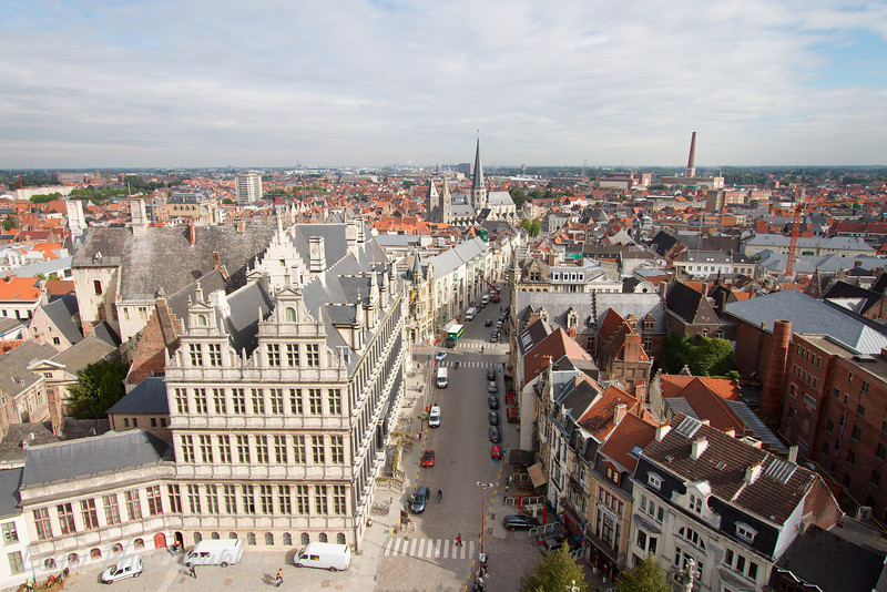 View of Gent from the Belfort, Gent, Belgium