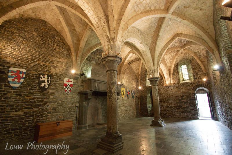 Inside The Gravensteen (Castle of the counts), Gent, Belgium