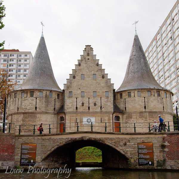 City gate, Gent, Belgium