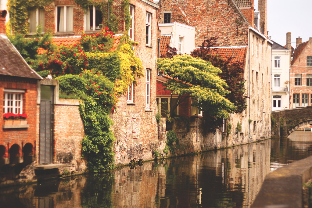 Canals of Ghent. June 2013