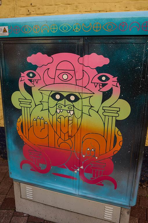 Street art in Hasselt, Belgium