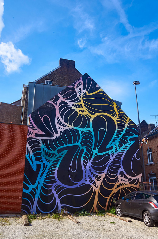 Mural by INSA in Hasselt, Belgium