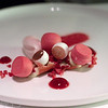 Raspberries, roses and cream of white chocolate, Hertog Jan, Brugge, Belgium