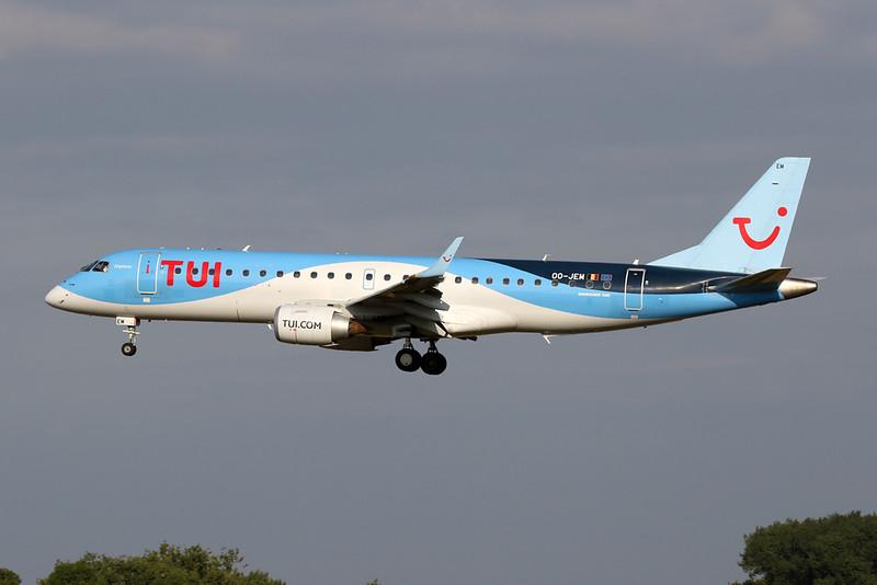 OO-JEM Embraer Emb-190STD c/n 19000603 Brussels/EBBR/BRU 01-08-20