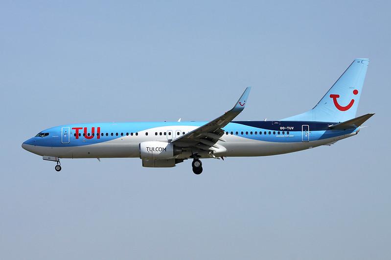 OO-TUV Boeing 737-86J c/n 36883 Brussels/EBBR/BRU 26-03-17