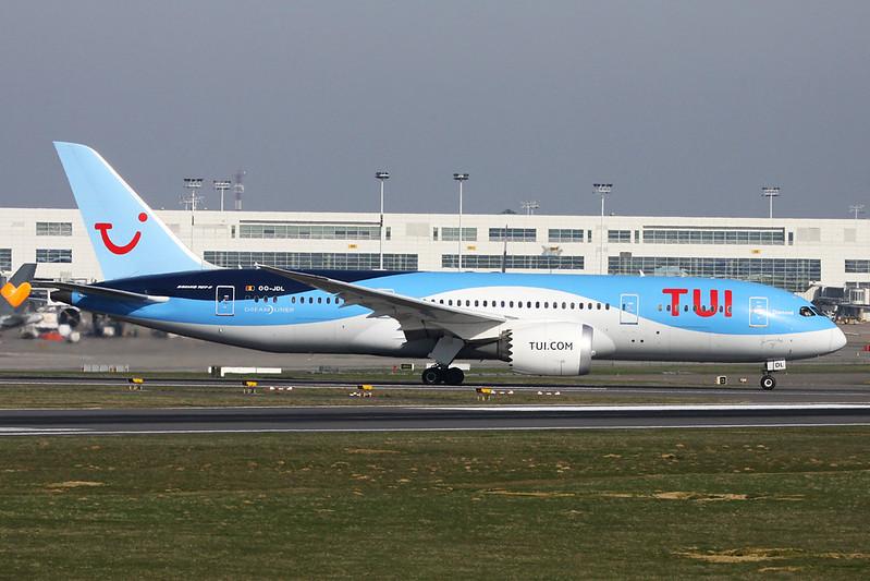 OO-JDL Boeing 787-8 c/n 34425 Brussels/EBBR/BRU 26-03-17
