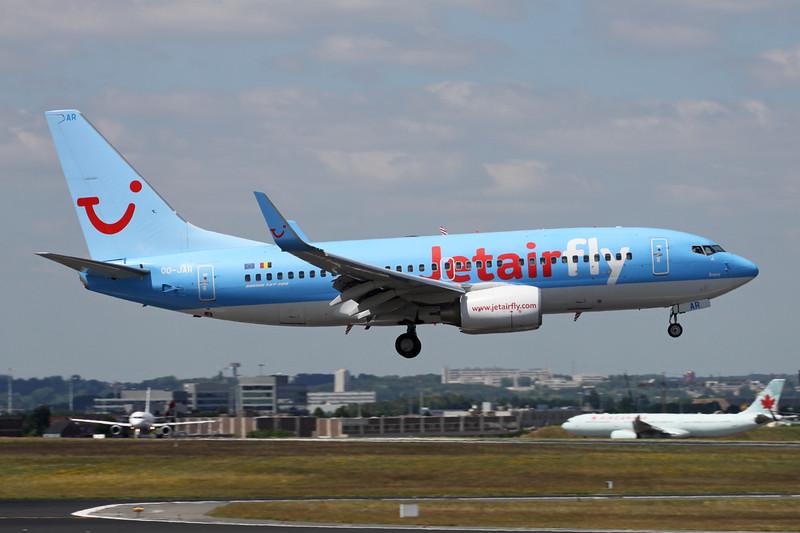 OO-JAR Boeing 737-7K5 c/n 35150 Brussels/EBBR/BRU 23-06-14