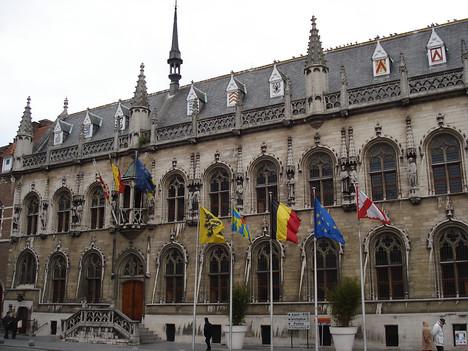 Stadhuis, Kortrijk - Belgium.