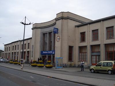 Kortrijk Train Station, Kortrijk - Belgium.