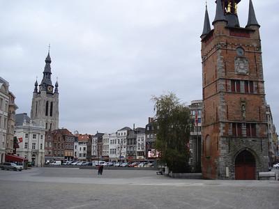 Grote Markt, Kortrijk - Belgium.