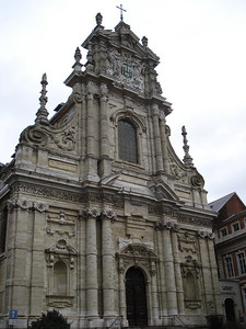 St Michaels Church, Leuven - Belgium.