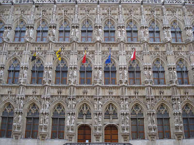 City Hall Front, Leuven - Belgium.