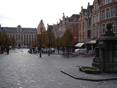 Oude Markt, Leuven - Belgium.
