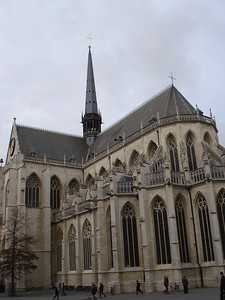 Collegiate St Peters Church, Leuven - Belgium.