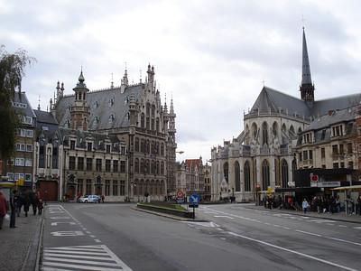 Fochplein, Leuven - Belgium.