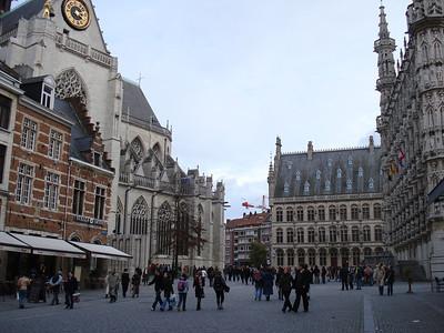 Grote Markt, Leuven - Belgium.