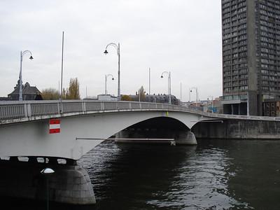 Pont J F Kennedy, Liege - Belgium.