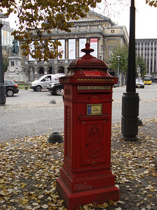 Post Box, Liege - Belgium.