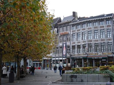 Place Du Commissaire Maigret, Liege - Belgium.