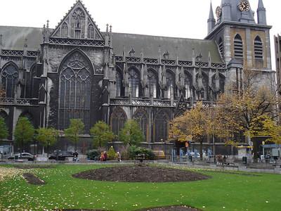 Place De La Cathedrale, Liege - Belgium.