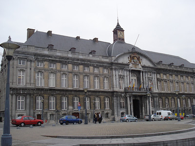 Palace Of The Prince Bishops, Liege - Belgium.