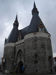 Brussels Gate, Mechelen - Belgium.